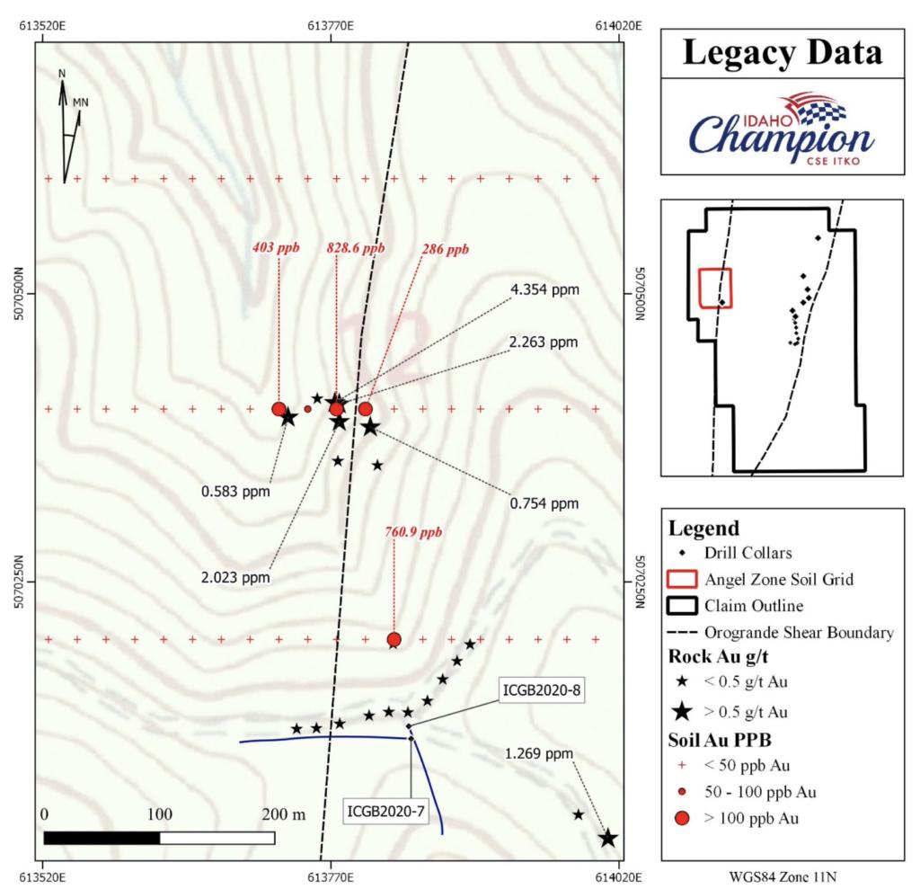 Idaho Champion Gold CSE - ITKO OTCQB - GLDRF FSE - 1QB1